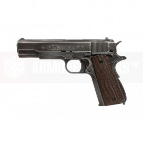 Armorer Works NE2002 Molon Labe 1911 Airsoft Pistol - Brown Grips