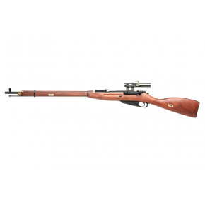 PPS Mosin Nagant 1891/30 Spring Airsoft Rifle with Real Wood Stock