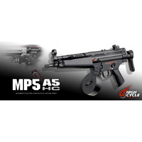 Tokyo Marui HK MP5 A5 High Cycle Airsoft SMG