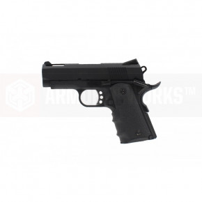 Armorer Works Custom 1911 Compact NE1002 - Black Slide and Black Frame