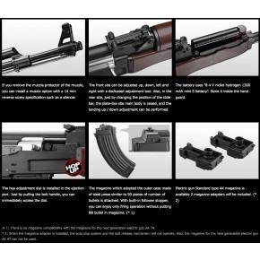 Tokyo Marui AK47 Type 3 Recoil Shock AEG