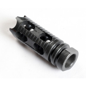 Phantom style steel flash hider 14mm CCW