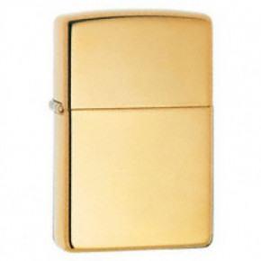 Genuine Zippo Lighter - Polished Brass