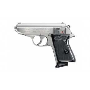 Maruzen Walther PPK/S '007' GBB Airsoft Pistol - Stainless