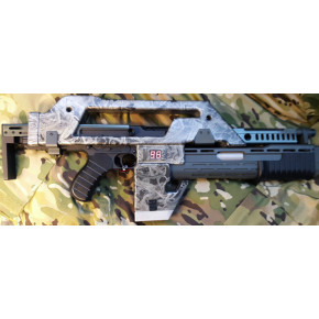 Aliens Pulse Airsoft Rifle M41A by Snow Wolf - Limited Edition 'XenoRipper'