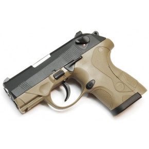 "WE 3Px4 HK PX4 Compact ""Bulldog"" - Tan - Metal Slide Airsoft Pistol"