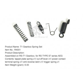 Real Sword Gearbox Spring Set For Type 97 T1 Gearboxes