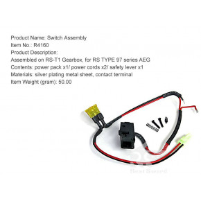 Real Sword Electrical Switch Assembly For Type 97 T1 Gearbox