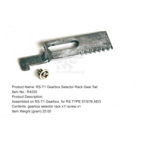 Real Sword Gearbox Selector Rack Gear Set For Type 97 T1 Gearbox