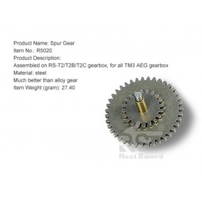 Real Sword Steel Spur Gear for the Type 56 Series T2 / T2B / T2C Gearboxes
