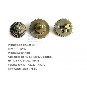 Real Sword Complete  Gear Set for Type 56 T2 / T2B / T2C Gearboxes