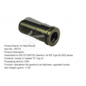 Real Sword Air Nozzle for Type 56 T2 / T2B / T2C Gearboxes