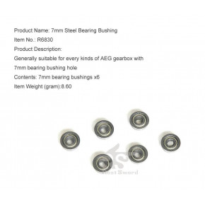 Real Sword 7mm Gearbox Bearing Set