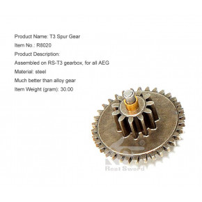 Real Sword Spur Gear for the SVD T3 gearbox