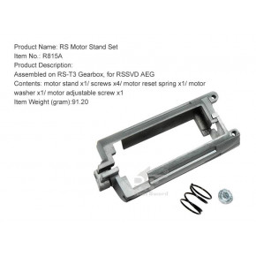 Real Sword Motor Stand Set ( Motor Cage ) For SVD T3 Gearboxes