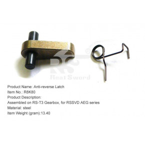 Real Sword Anti-reverse Latch for SVD T3 Gearbox