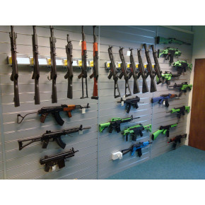 S-Thunder Modular Wall Mounted Gun Rack