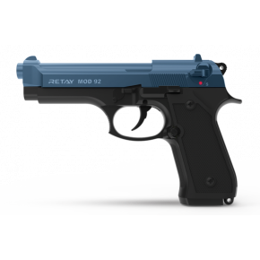 Retay Blank Firing 9mm MOD92 (M92) Black/Blue