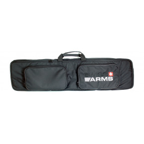 "Swiss Arms 120cm - 47"" padded Sniper Gun Case / Gun Bag with two zip pockets"