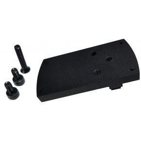 Silverback Black Micro Red Dot Adapter for Tokyo Marui Glocks