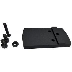 Silverback Black Micro Red Dot Adapter for KSC/KWA Glocks