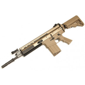 WE SCAR H Open Bolt GBB (Gas Blowback) - Tan