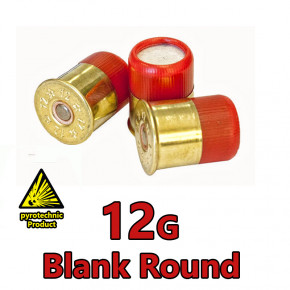 12g Shotgun Blanks (10-Pack)