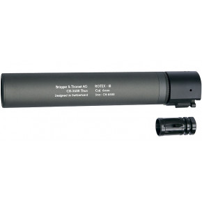 B&T ROTEX III quick detach suppressor - Grey