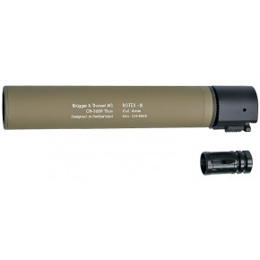 B&T ROTEX III quick detach suppressor - Tan