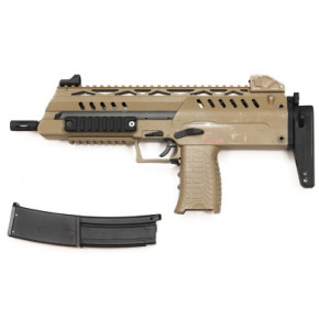 WE SMG-8 MP7-alike GBB Airsoft SMG - Tan