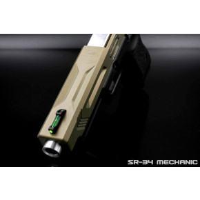 SR Union SR-34 Mechanic Pistol with Hard Case - Tan