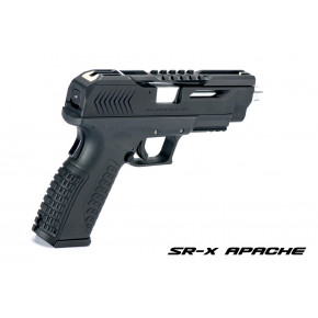 SR Union SR-X Apache Pistol with Hard Case - Gray