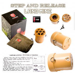 S-Thunder Step & Release Gas mine - Yellow