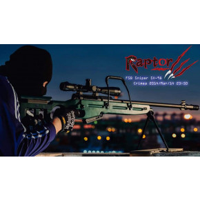 Raptor SV-98 Deluxe Edition Airsoft Sniper Rifle