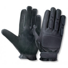 CoverT Leather Rappel Gloves - Padded knuckles