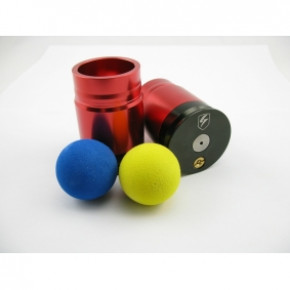 S-Thunder Foam Ball Airsoft Grenade Dual-Pack Red - Single Ball