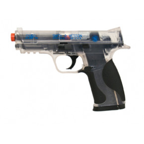 KWC Smith & Wesson M&P .40 CO2 Airsoft Pistol - Clear (Two-tone)