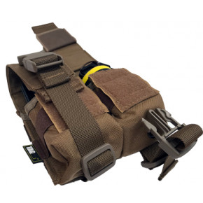 TAG Innovation Double Grenade Pouch - Dark Earth