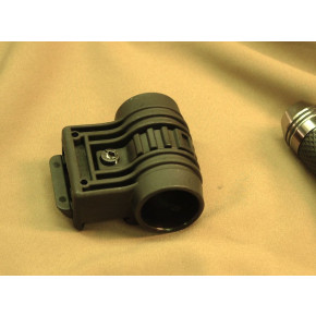 TD-style Flashlight mount for 20mm RIS - Black