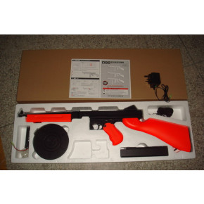 Two-Tone Orange Airsoft Thompson 'Tommy Gun' (M1A1) AEG