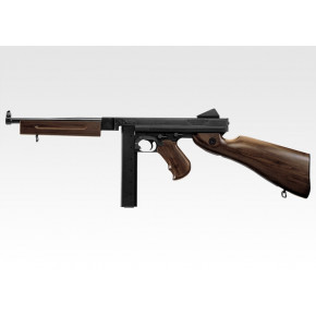 Tokyo Marui M1A1 Thompson with Faux Wood Airsoft Rifle
