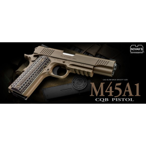 Tokyo Marui US Government M45A1 Gas Blowback Airsoft Pistol - 2018 model