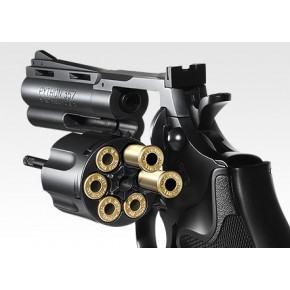 Tokyo Marui Colt Python .357 Magnum 4 inches Black model - Air cocking