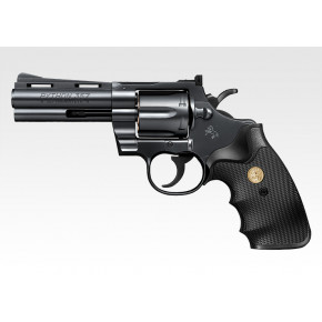 Tokyo Marui Colt Python .357 Magnum 4 inches Black model - Air cocking