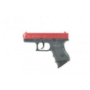 Tokyo Marui Red Two-Tone Glock 26 'Semi-Auto' Spring pistol