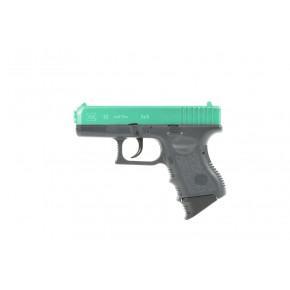 Tokyo Marui Green Two-Tone Glock 26 'Semi-Auto' Spring pistol