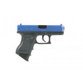 Tokyo Marui Blue Two-Tone Glock 26 'Semi-Auto' Spring Airsoft Pistol