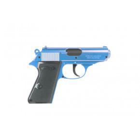 Tokyo Marui Two-Tone Blue Walther PPK 'Semi-Auto' Spring Airsoft Pistol