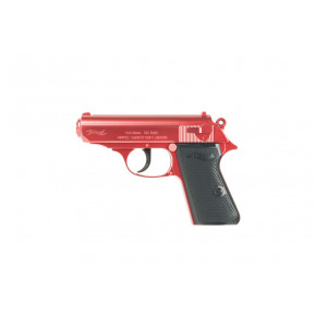 Tokyo Marui Two-Tone Red Walther PPK 'Semi-Auto' Spring Airsoft Pistol