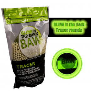 BAW Bag 0.25g Precision Tracer BB's (4000) 1Kg